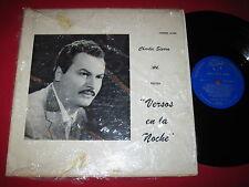 RARE SPOKEN WORD LP - CHARLIE SIERRA - VERSAS EN LA NOCHE - FUENTES 005