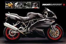 Motorcycle, Ducati Super Sport Poster Print, 36x24
