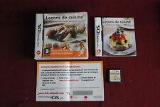Leçon de cuisine pour DS