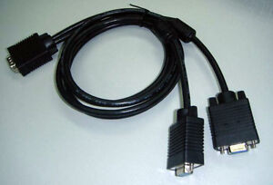 Logitech z 5450  z-5450 Control Pod Y Splitter Cable To Subwoofer Speakers