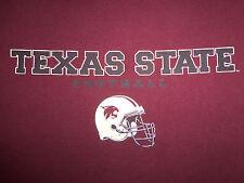NCAA Texas State University Bobcats 2008 San Marcos Maroon Graphic T Shirt - XL