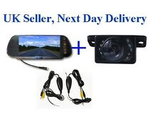 Caravan Wireless Video Parking Reversing Camera 7'' LCD Monitor Kit