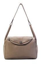 Hermes Clemence Leather Lindy 34 Sh