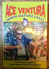 Ace Ventura When Nature Calls book pprbk Jim Carrey Steve Oedekerk novelization