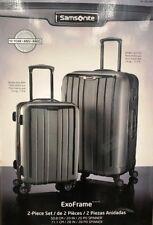 Samsonite ExoFrame 2-piece Hardside Spinner Suitcase Luggage Set Grey