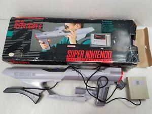 Super Nintendo SNES Super Scope 6 Gun In Box