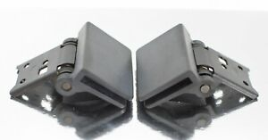 JVC, Yamaha, Kenwood, Sony, Sansui Turntable Pair of Hinges, May Fit Others