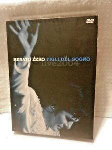 RENATO ZERO Figli Del Sogno Live 2004 2 Dischi DVD Musica Collezione