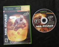 NHL Rivals 2004 — Cleaned/Tested! Fast Free Shipping! (Microsoft Xbox, 2003)