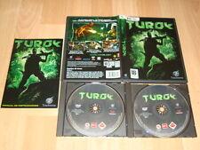 TUROK DE TOUCHSTONE PARA PC CON 2 DISCOS USADO COMPLETO COMO NUEVO