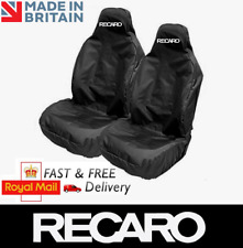 RECARO Car Sports Bucket Seat Covers Protectors x2 / Fits AUDI S1 S3 S4 S5 S7 S8