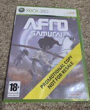 Afro Samurai Xbox 360 Promotional Copy