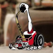 "Hurst Hot Rod sticker decal old school shifter rat drag racing 4.25"""