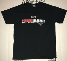 Drury University Panthers Baseball T-shirt Adult Size Medium Black