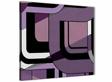 Lilac Grey Painting Stairway Canvas Pictures Decor - Abstract 1s412m - 64cm