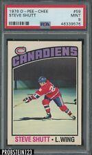 1976 O-Pee-Chee OPC Hockey #59 Steve Shutt Canadiens PSA 9 MINT