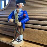 """Ben Franklin German Insense Smoker Collectable with Kite 7 1/2"""" tall"""