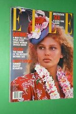 ELLE USA JUNE 118/1995 COVER BRIDGET HALL ALICE DODD VERONICA WEBB