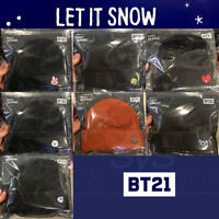 BTS BT21 Official Authentic Goods Beanie by LINE FRIENDS 17.32in 7Characters