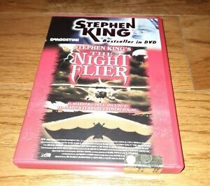 DVD The Night Flier di Stephen King COME NUOVO molto raro perfetto vero affare!