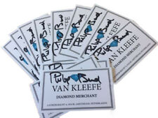 Only Fools and Horses Philip Bond Mr Van Kleefe Business Card Autographed