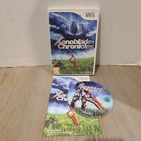 PAL VERSION - Xenoblade Chronicles (Nintendo Wii, 2012) - CIB EU / PAL Version