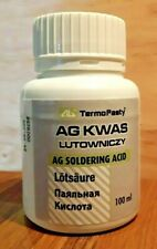 100ml  Soldering Acid kwas lutowniczy kislota especially for Nickel