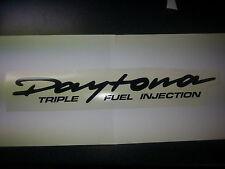 TRIUMPH DAYTONA PAIR  STICKER BIKE MOTOR BIKE DECAL MANY COLOURS