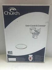 Church 1744Ec Wood Durable Color-matched Standard Quality Elongated Toilet Seat
