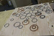 """ASME  Gaskets Inconel COPPER 6"""" 5"""" 3"""" LOT OF 47"""