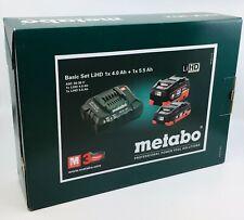Metabo Basis-Set LIHD 1 x 4.0 Ah + 1 x 5.5 Ah