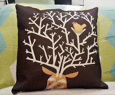 Contemporary 100% Linen Decorative Cushion Covers