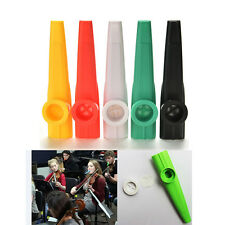 1X Plastic Kazoo Classic Musical Instrument For All Ages Campfire GatheringsMDAU