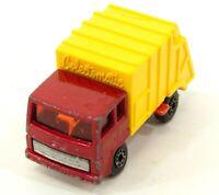 Matchbox Superfast Refuse Truck No 36 1979 Lesney Toy Car Diecast Vintage J280
