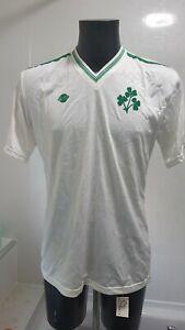 Rare Republic of Ireland International Shirt - Eire Celtic Not Matchworn 1980s.