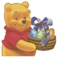 Winnie The Pooh 14 Count Cross Stitch Kit