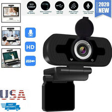 New listing 1080P Full Hd Usb Webcam Video Web Camera for Pc Desktop Laptop with Microphone