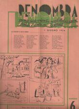 Penombra Premiata Rivista Enigmistica Mensile Illustrata a Premi Giugno 1954