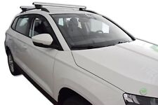 SKODA KAROQ 2017-up  SET OF 4 WIND DEFLECTORS HEKO TINTED
