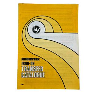 Hobbytex Iron-On Transfer Catalogue Vintage
