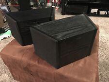 KEF Q800ds Loudspeaker Black Oak Great Shape