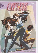 DVD CAT'S EYE vol 2 MANGA tsukasa hojo