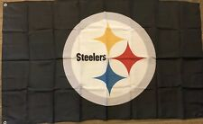 PITTSBURGH STEELERS Flag NEW 3 X 5 ' NFL Football Roethlisberger 7 MAN CAVE Ben