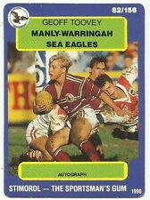 Scanlens Manly Sea Eagles NRL & Rugby League Trading Cards