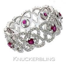 Diamond Round White Gold 18 Carat Fine Rings