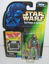 Star Wars POTF2 Freeze Frame FF Boba Fett