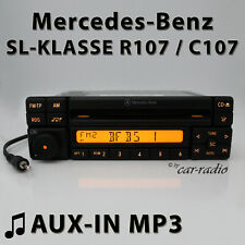 Mercedes Special MF2297 AUX-IN MP3 R107 Autoradio SL-Klasse C107 CD-R RDS Radio