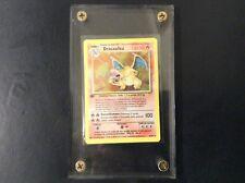 Charziard (Dracaufeu) Extremely Rare 1st Edition Pokemon 4/102