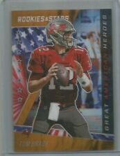 Tom Brady 2020 Rookie & Stars Great American Heroes Orange Parallel  # 02/25