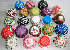 10,000 Muffin/ Large cupcake cases. 22 different designs, Birthdays Babyshowers